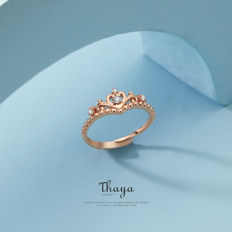 Adjustable Rose Gold Queen Ring