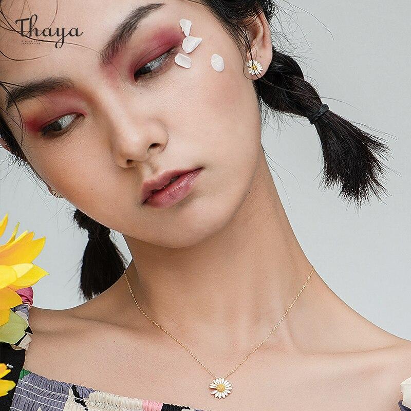 Daisy Flower Necklace