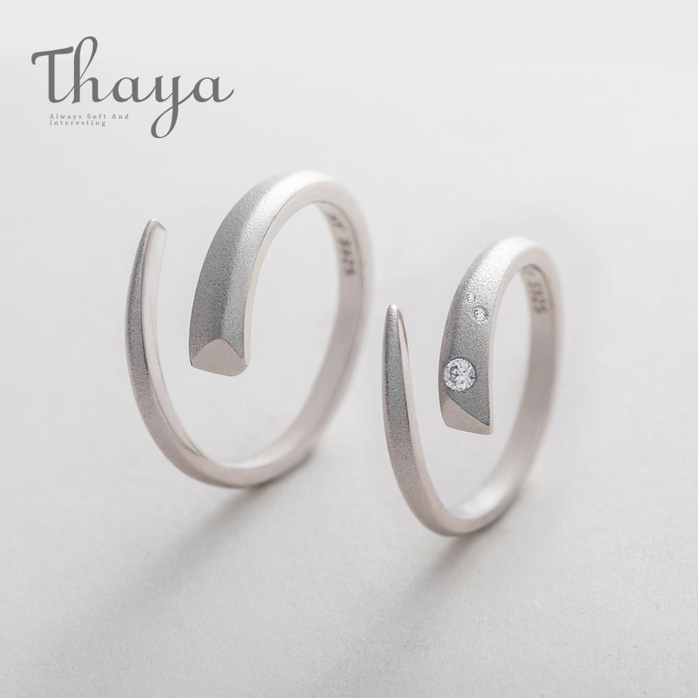 Open Silver Horn Ring