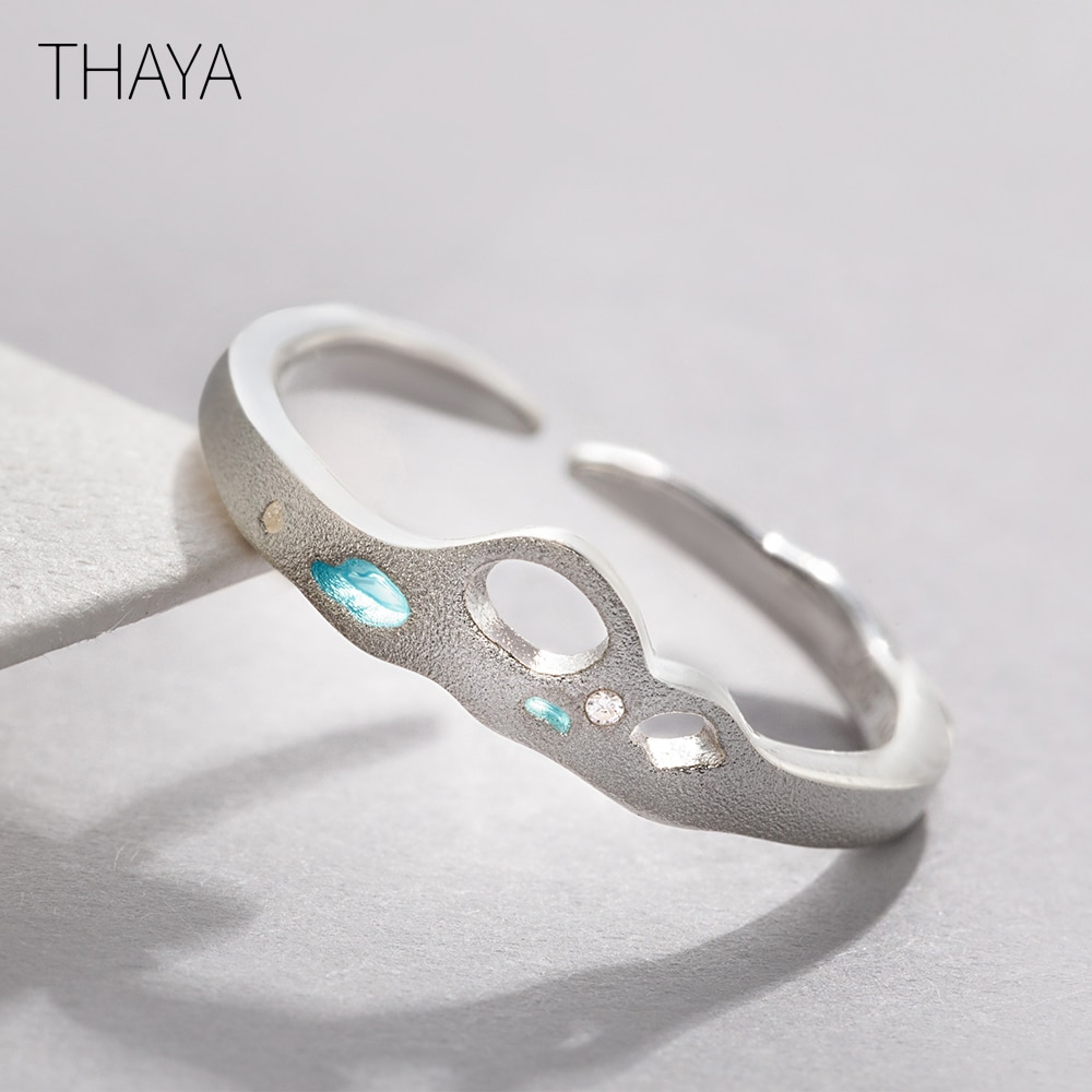Facing The Sea - Blue Zircon Ring