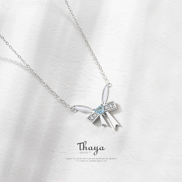 Silver Bow Choker - Fairy Tale Series