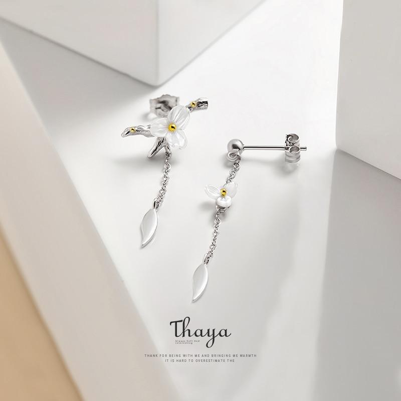 Summer Flower Drop Earring