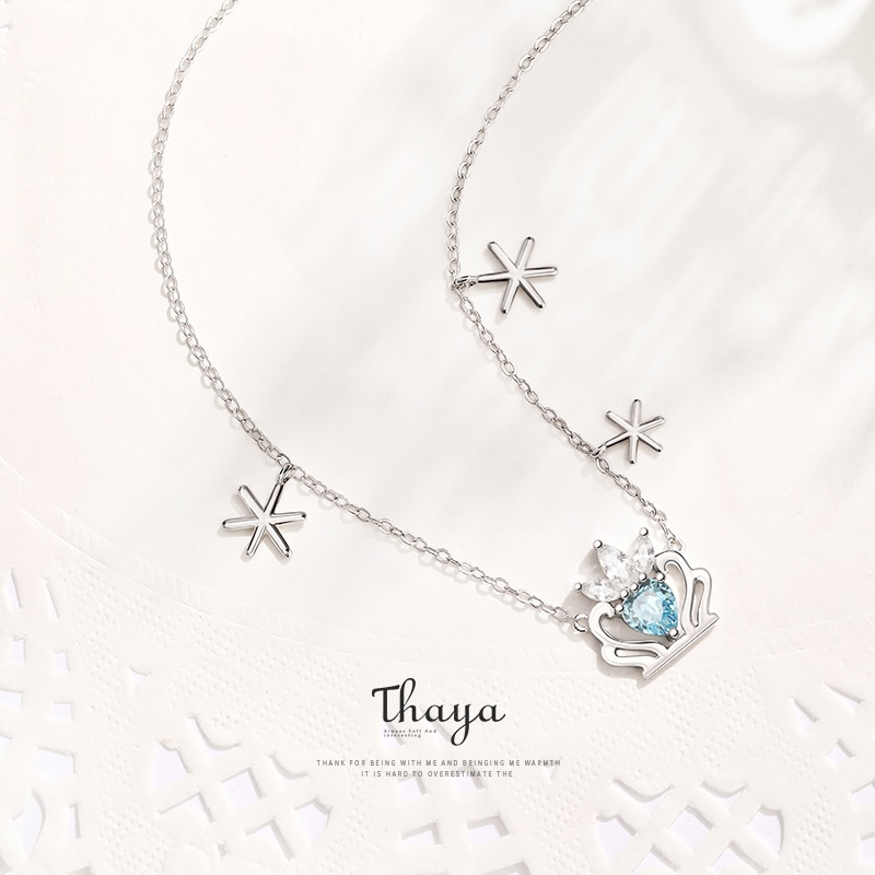 Snow Queen Pendant Necklace - Fairy Tale Series