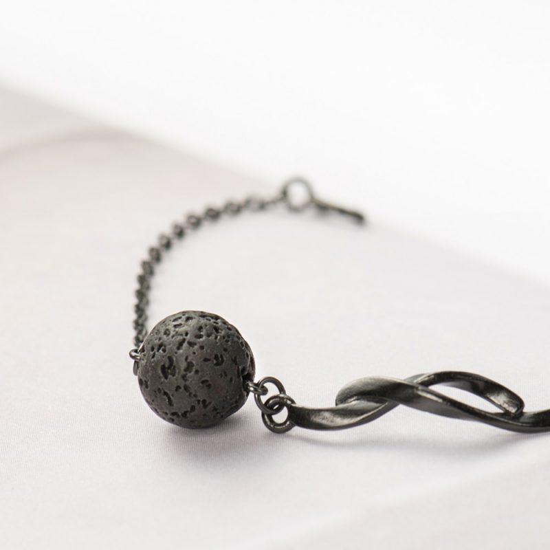 Fallen Meteorite Stone Bracelet