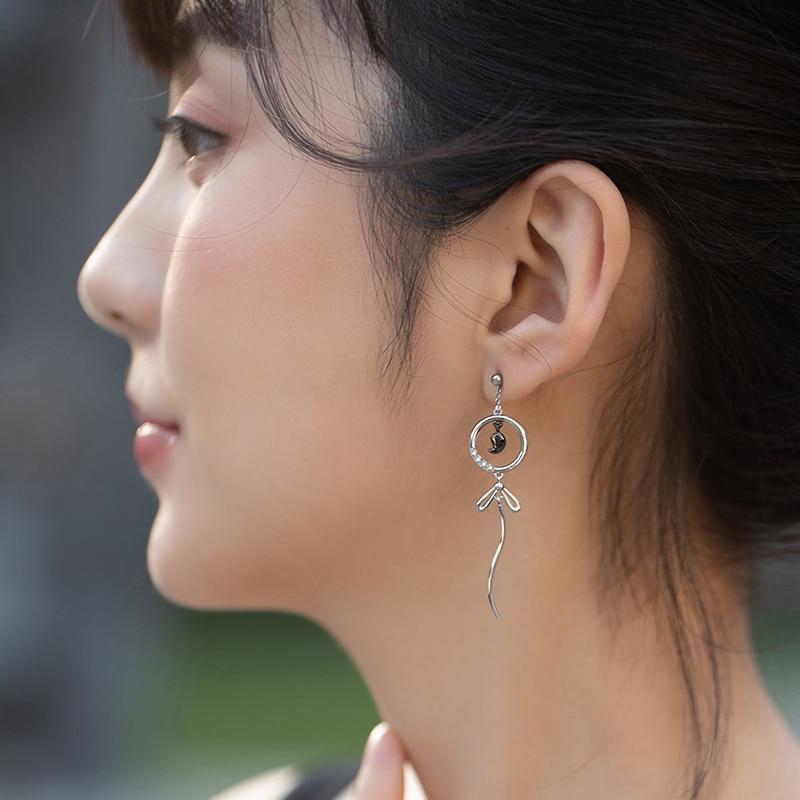 Fox Dangle Earring