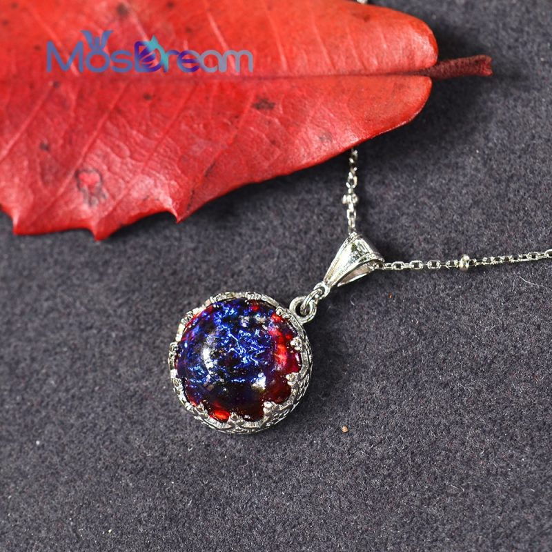 Dragon's Breath Pendant Necklace