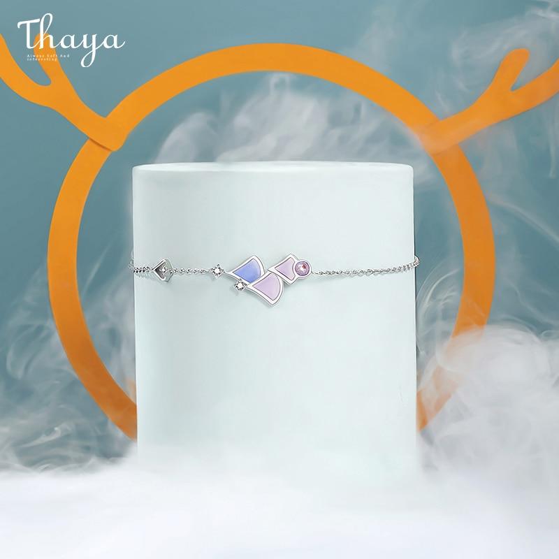 Tri Stone Chain Bracelet