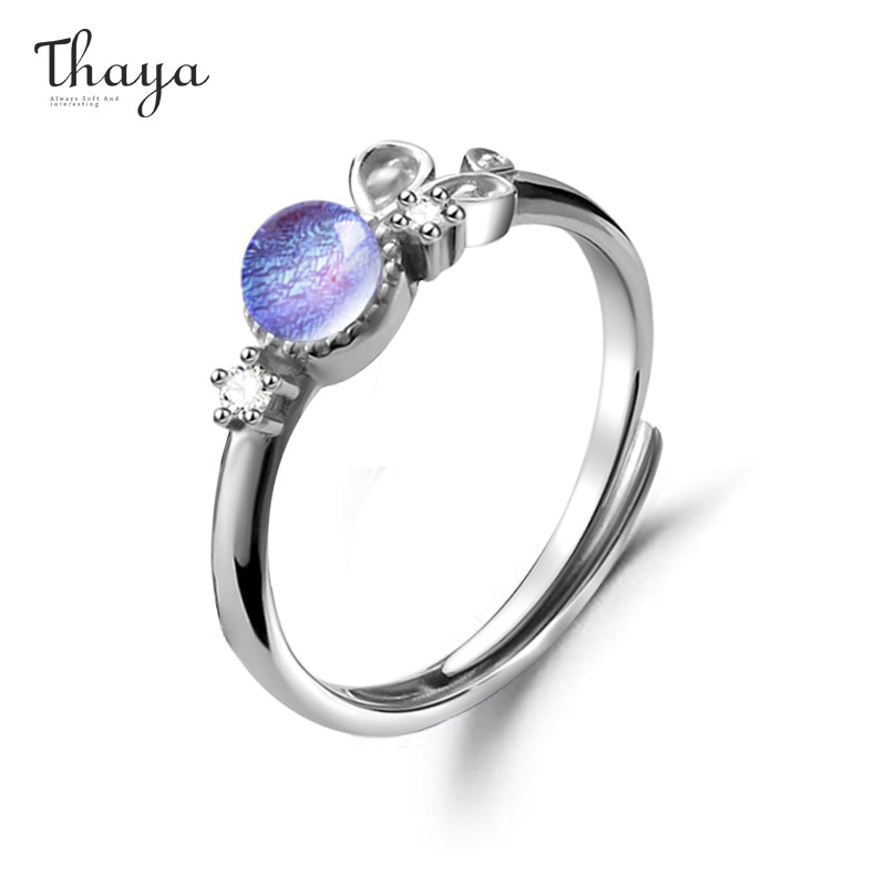 Purple Provence Couple Ring