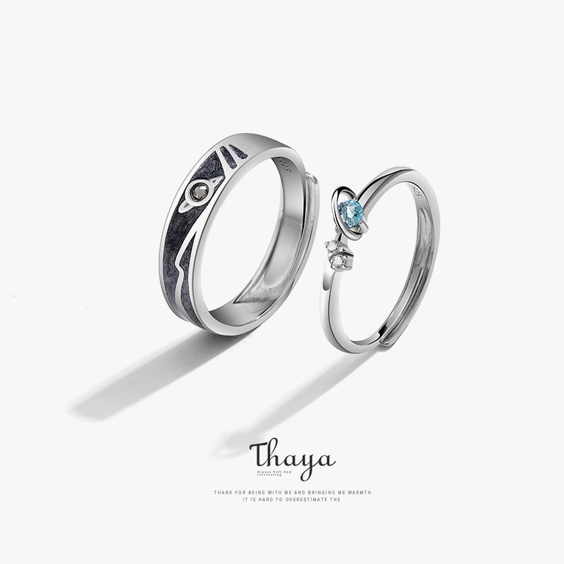 Fantasy Planet Couple Ring