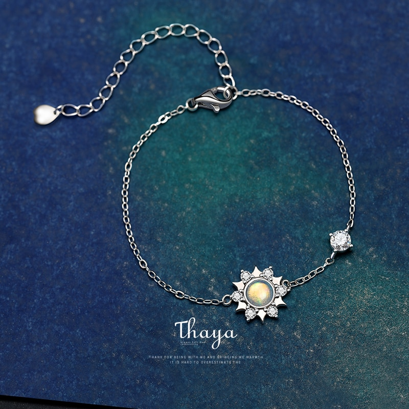 Silver Charm Colorful Bracelet