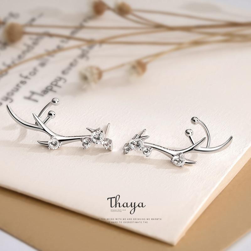 Deer Crown Earring