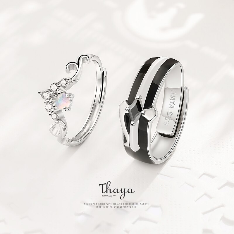 King & Queen Couple Ring