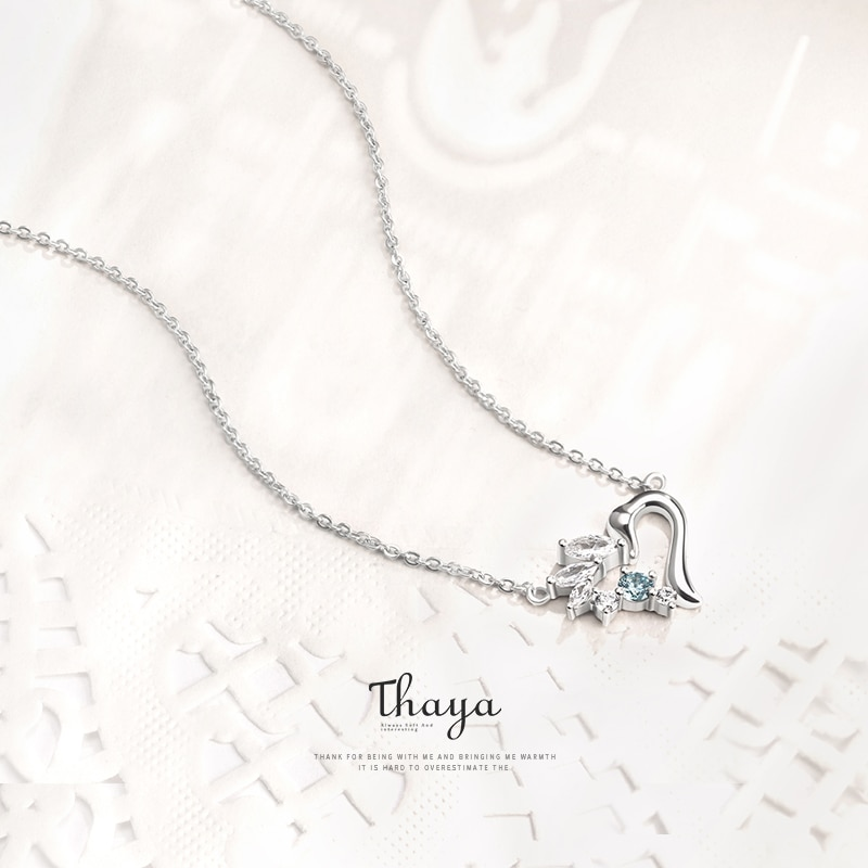 Heart-Duckling Necklace