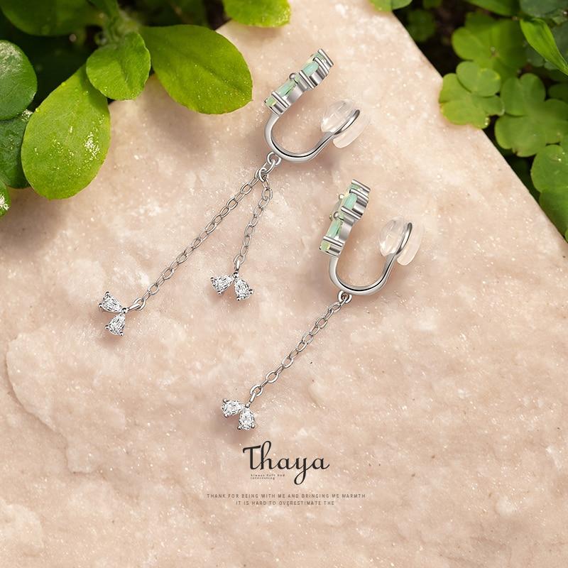 Clovers Clip-On Earrings