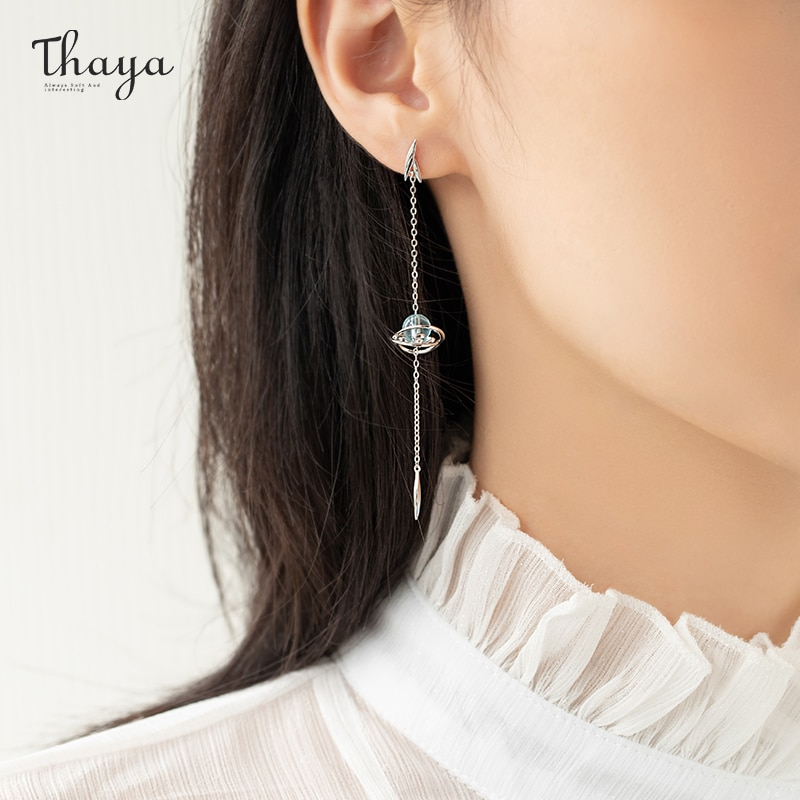 Water Ripple Drop Earrings