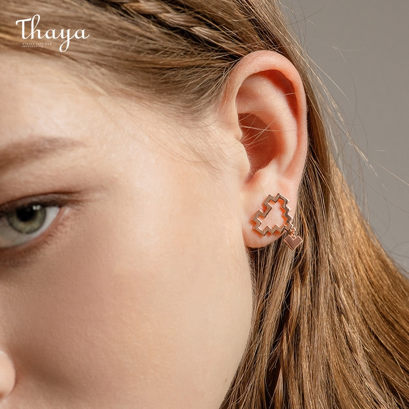 Infinity Symbol Ear Studs