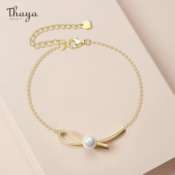 Pearl Knot Bracelet