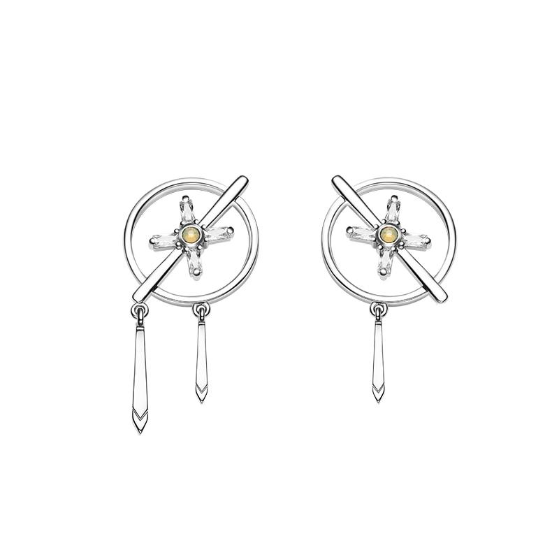 Cross Priest Earrings