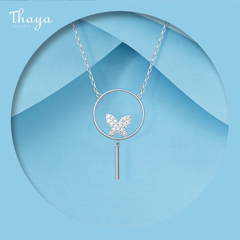 Butterfly Ring Necklace