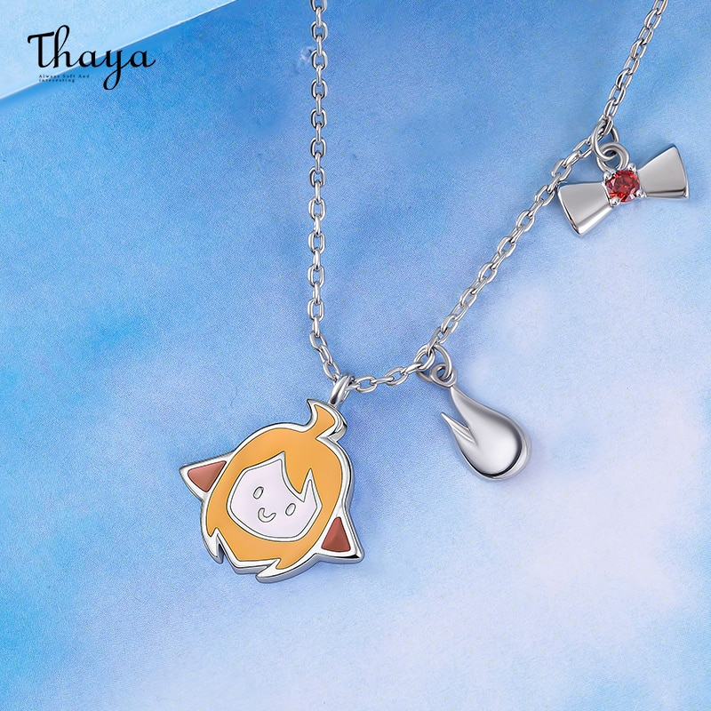 Animated Girl Necklace
