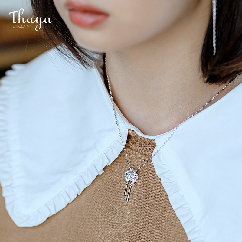 Peach Blossom Necklace
