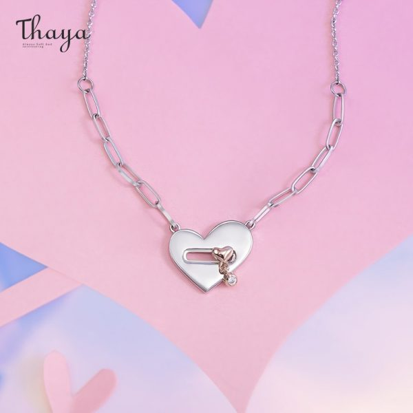 Locked Heart Necklace