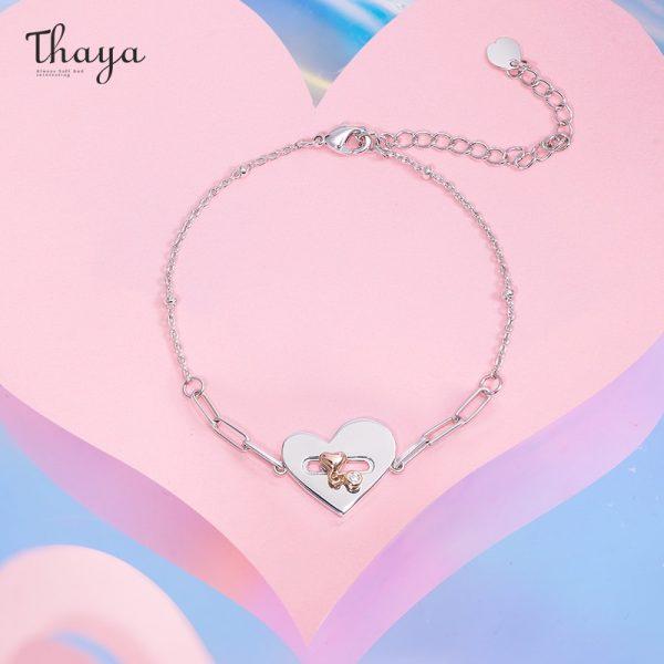Locked Heart Bracelet