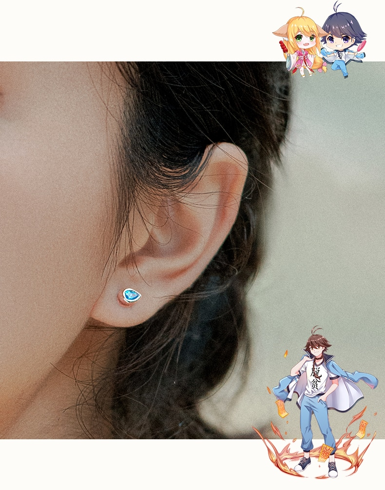 Animated Character Earrings
