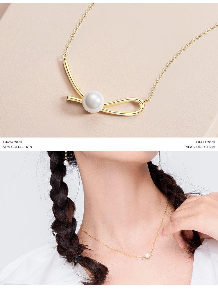 Pearl Knot Necklace
