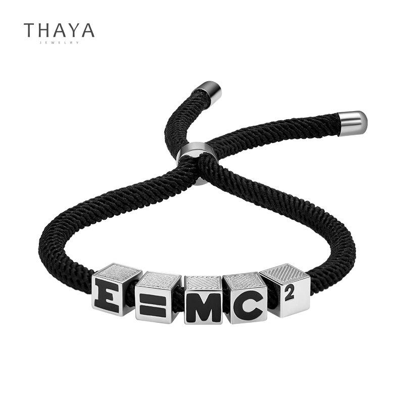 Relativity Formula Bracelet