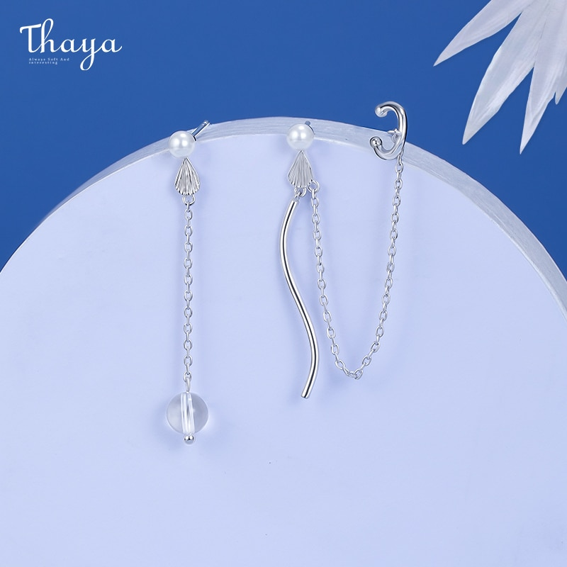 Fish Fin Earrings With Clip