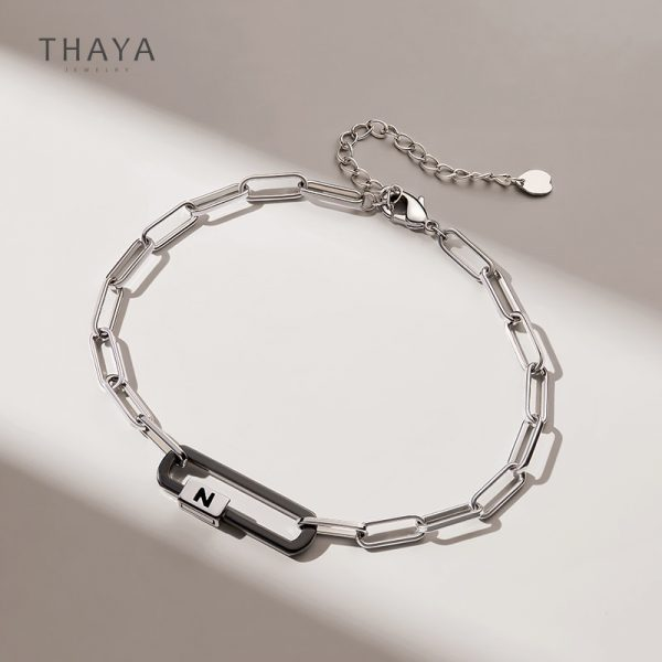 Two Poles Magnetic Couple Bracelet