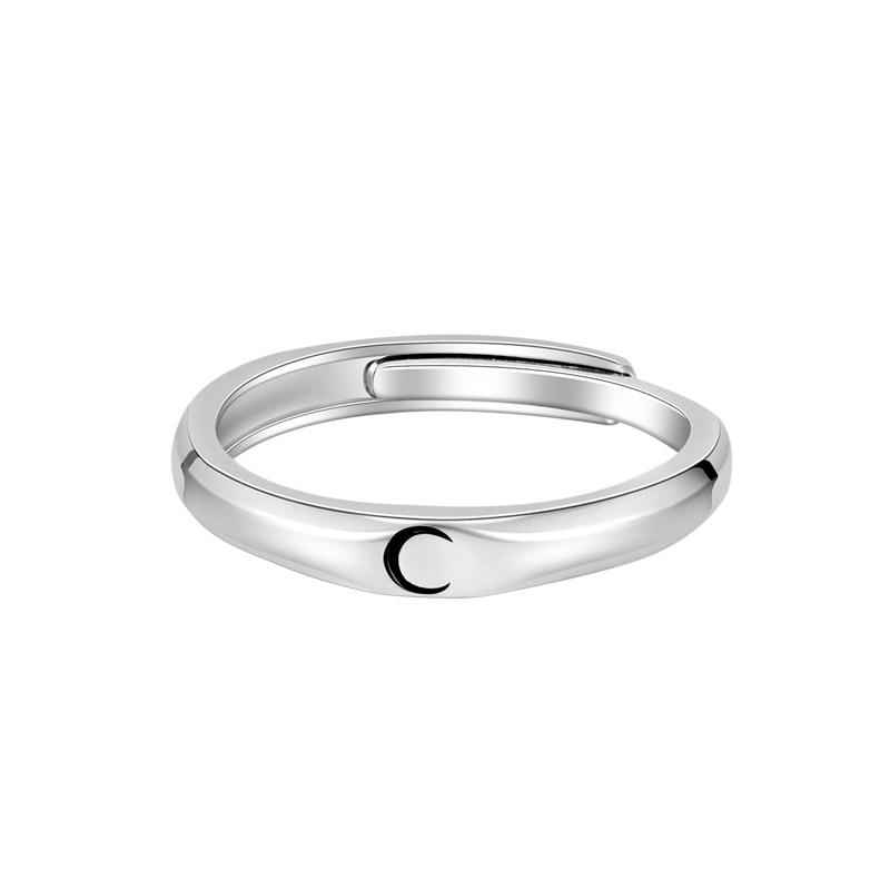 Sun and Moon Couple Rings