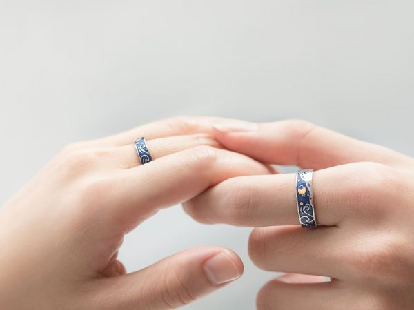 Thaya-Genuine-Van-Gogh-s-Enamel-Rings-Jewelry-925-Silver-Glitter-Deer-Sky-Gold-Moon-Star-4.jpg